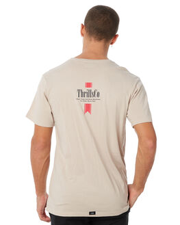 SAND MENS CLOTHING THRILLS TEES - TW8-111CSAND