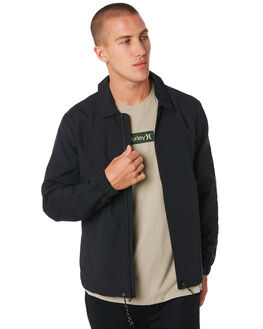 BLACK OUTLET MENS HURLEY JACKETS - AV8065010