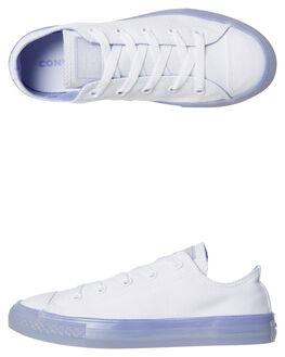 WHITE TWILIGHT PULSE OUTLET KIDS CONVERSE FOOTWEAR - 660767TWI