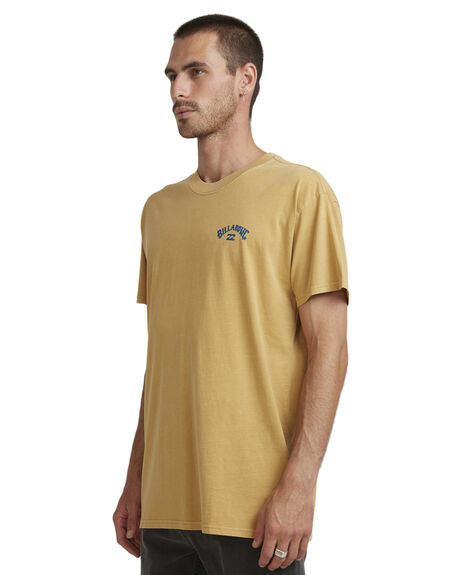 WASHED GOLD MENS CLOTHING BILLABONG TEES - BB-9504107-WEG