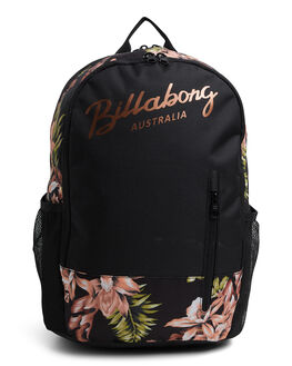 BLACK WOMENS ACCESSORIES BILLABONG BAGS + BACKPACKS - BB-6604001-BLK