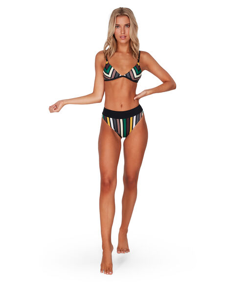 MULTI WOMENS SWIMWEAR RVCA BIKINI TOPS - RV-R492803-M77