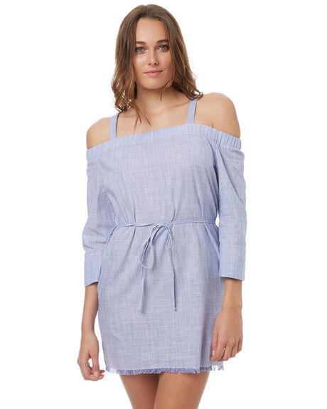 BLUE OUTLET WOMENS ELWOOD DRESSES - W73710BLUE