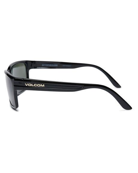 GLOSS BLACK MENS ACCESSORIES VOLCOM SUNGLASSES - VE01000202GBLK