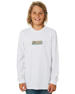 WHITE KIDS BOYS BILLABONG TOPS - 8595173WHT