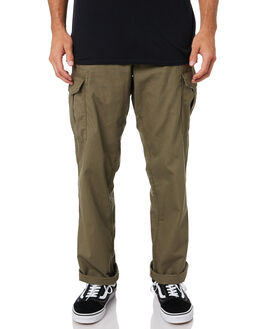 ARMY GREEN COMBO MENS CLOTHING VOLCOM PANTS - A1111906ARC