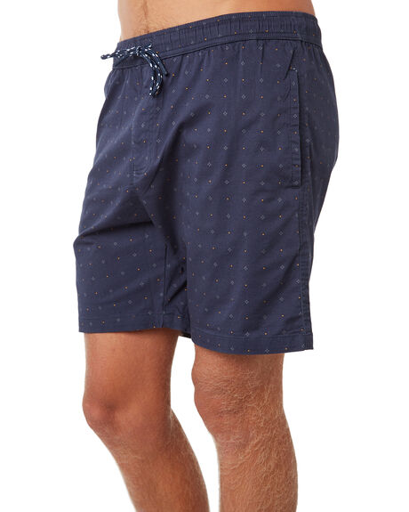 NAVY MENS CLOTHING DEPACTUS BOARDSHORTS - D5184247NAVY