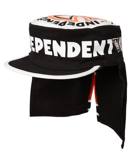 BLACK OFF WHITE MENS ACCESSORIES BRIXTON HEADWEAR - 10376BKOFF