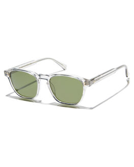 FOG CRYSTAL GREEN MENS ACCESSORIES RAEN SUNGLASSES - 100U183ARE-S110