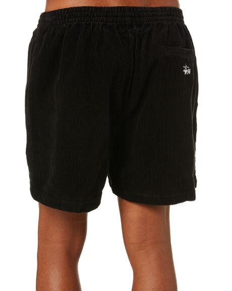 BLACK MENS CLOTHING STUSSY SHORTS - ST001603BLK