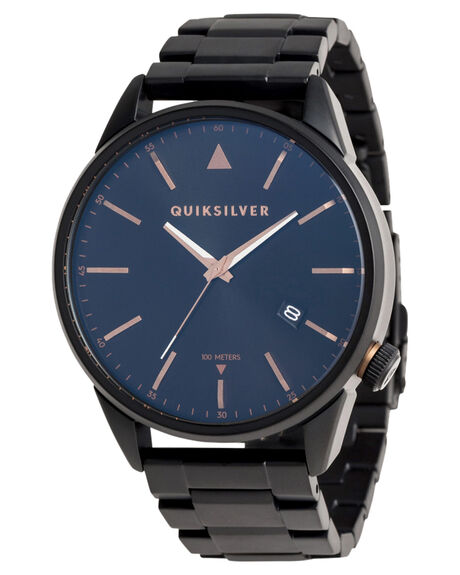 BLACK ROSE GOLD MENS ACCESSORIES QUIKSILVER WATCHES - EQYWA03026XKMK