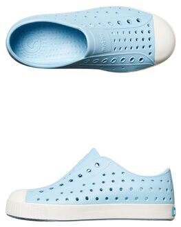 SKY BLUE WHITE KIDS GIRLS NATIVE SNEAKERS - 12100100-4960
