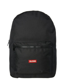BLACK BLACK MENS ACCESSORIES GLOBE BAGS + BACKPACKS - GB71729022BLKBK