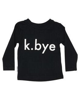 BLACK KIDS BOYS TINY TRIBE TOPS - TTBW18-1004DBLK