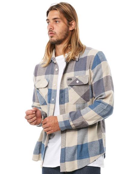 OFF WHITE MENS CLOTHING BRIXTON SHIRTS - 01000WDSBL