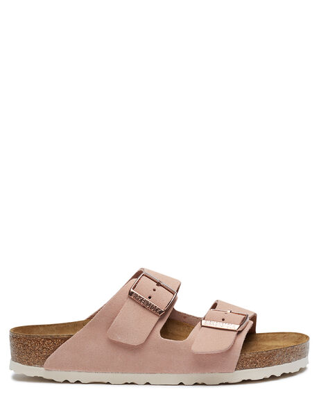LIGHT ROSE WOMENS FOOTWEAR BIRKENSTOCK FASHION SANDALS - 1015891LROSE