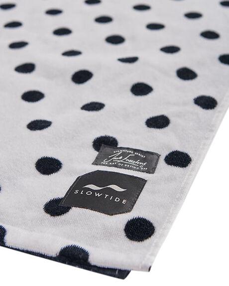 BLACK MENS ACCESSORIES SLOWTIDE TOWELS - ST157BLK