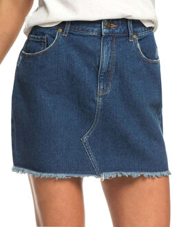 MEDIUM BLUE WOMENS CLOTHING ROXY SKIRTS - ERJDK03009-BGY0