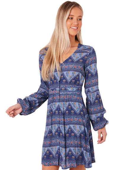 BLUE OUTLET WOMENS SWELL DRESSES - S8183452BLUE