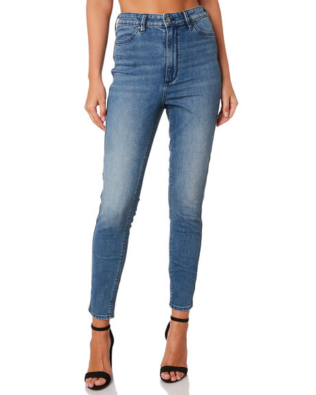 ADELAIDE BLUE WOMENS CLOTHING RIDERS BY LEE JEANS - R-551545-KC8