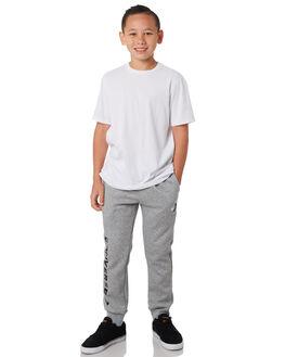 DARK GREY HEATHER KIDS BOYS CONVERSE PANTS - R968348042
