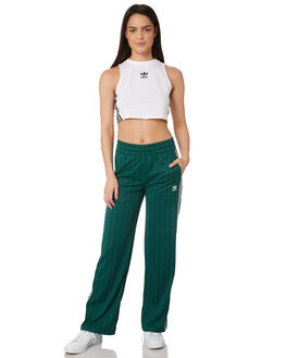 COLLEGIATE GREEN WOMENS CLOTHING ADIDAS PANTS - DU9930GRN