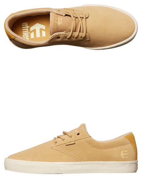 TAN MENS FOOTWEAR ETNIES SKATE SHOES - 4101000449-260