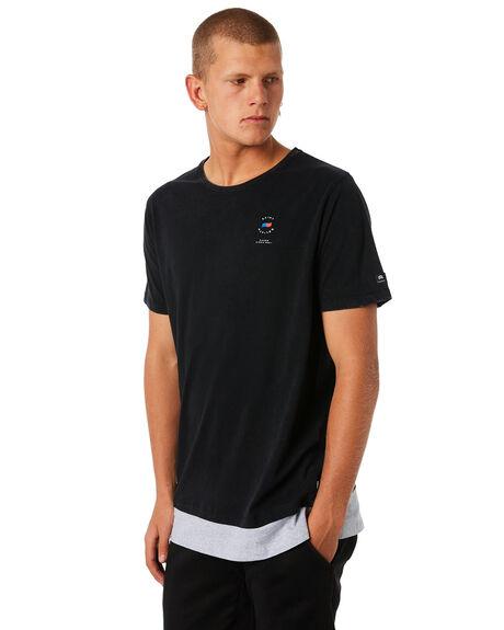 BLACK MENS CLOTHING ST GOLIATH TEES - 4314018BLK