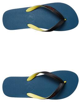 STEEL BLUE MENS FOOTWEAR KUSTOM THONGS - 4946212ESTEEL