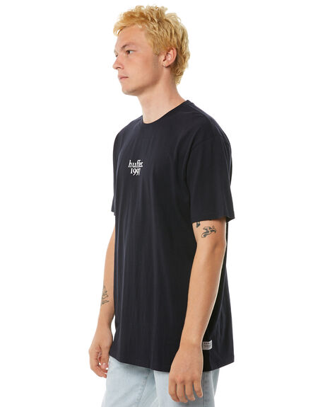 NAVY MENS CLOTHING HUFFER TEES - MTE81S220-580NVY