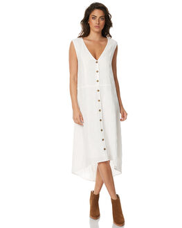WHITE WOMENS CLOTHING ZULU AND ZEPHYR DRESSES - ZZ1553WHT