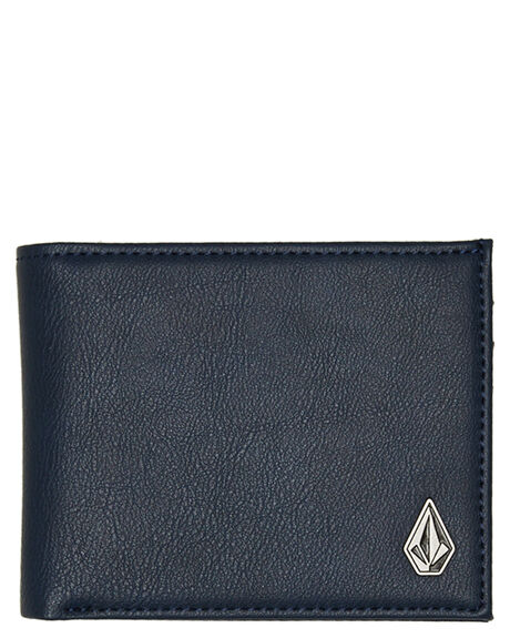NAVY BEIGE  MENS ACCESSORIES VOLCOM WALLETS - D6031648NVY
