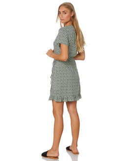 BLUE FOG WOMENS CLOTHING RUSTY DRESSES - DRL1063BFG