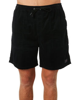BLACK MENS CLOTHING RUSTY SHORTS - WKM0940BLK