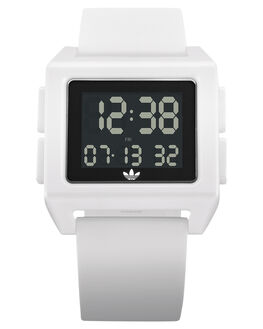 WHITE MENS ACCESSORIES ADIDAS WATCHES - Z15-100
