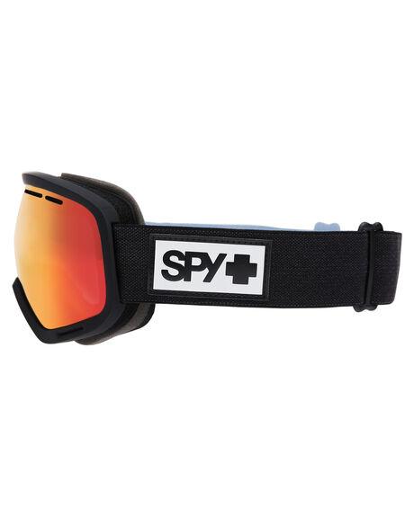 MATTE BLACK BOARDSPORTS SNOW SPY GOGGLES - 313013374869MBLK