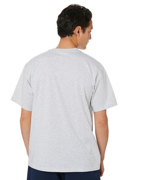 LIGHT GREY HEATHER MENS CLOTHING ADIDAS TEES - GL4375LTGH