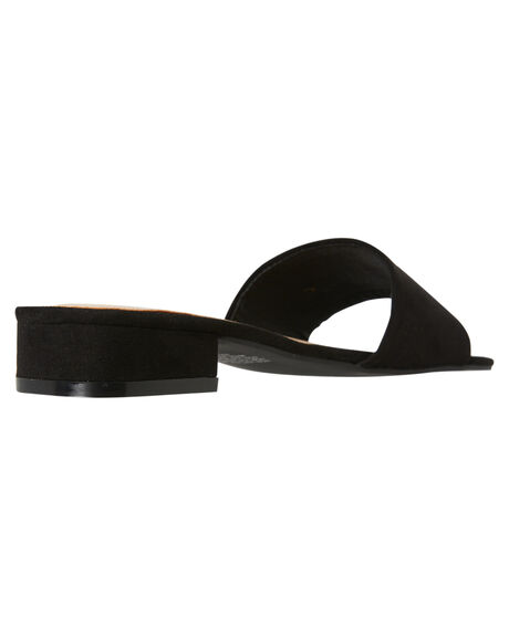 BLACK WOMENS FOOTWEAR THERAPY FASHION SANDALS - SOLE-6244BLK