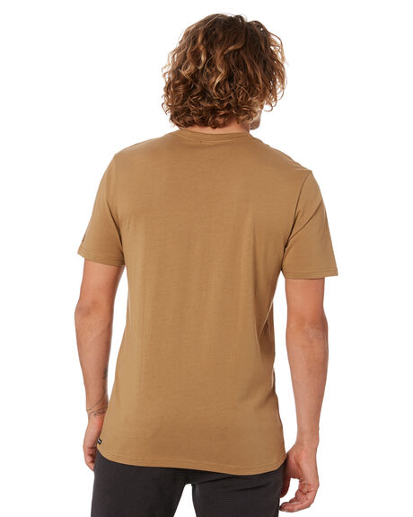 SEEDY YELLOW MENS CLOTHING VOLCOM TEES - A4302001SDY