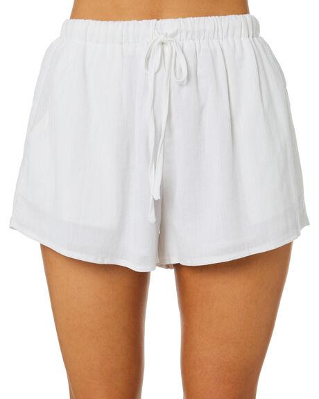 WHITE WOMENS CLOTHING SNDYS SHORTS - SESH019WHT