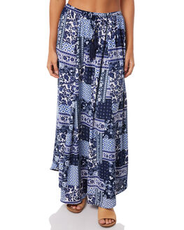 INDIGO MOSAIC WOMENS CLOTHING O'NEILL SKIRTS - 4722407-IDM