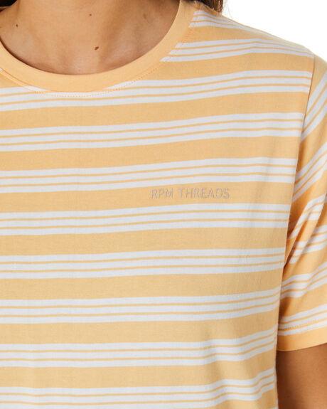 SUNBURST STRIPE WOMENS CLOTHING RPM TEES - 21PW04ASSTP