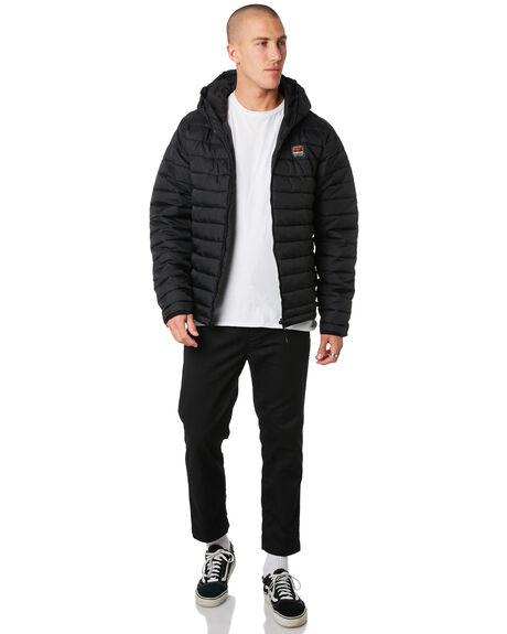 BLACK MENS CLOTHING DEPACTUS JACKETS - D5194382BLACK