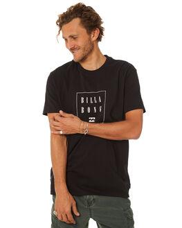 BLACK MENS CLOTHING BILLABONG TEES - 9582036BLK