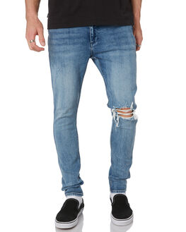 WHOLE LOTTA BLUE MENS CLOTHING WRANGLER JEANS - W-901641-LX5WLBLU