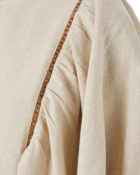 NATURAL WOMENS CLOTHING TIGERLILY FASHION TOPS - T305031NAT