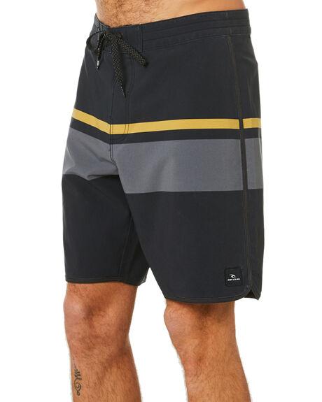 BLACK MENS CLOTHING RIP CURL BOARDSHORTS - CBOCF90090