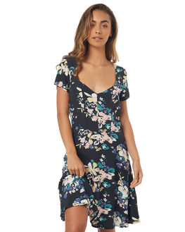 BLACK WOMENS CLOTHING ROLLAS DRESSES - 125331000