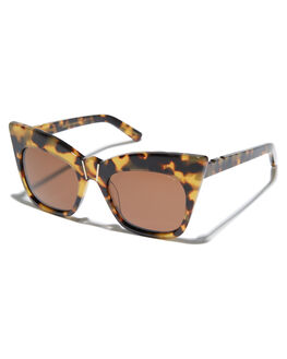 DARK TORT BROWN WOMENS ACCESSORIES PARED EYEWEAR SUNGLASSES - PE1401DTTRTBR