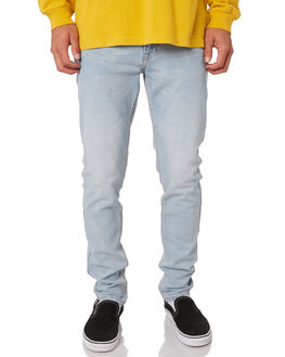 LATE SUMMER BLUE MENS CLOTHING DR DENIM JEANS - 1330125-H88